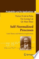 Self Normalized Processes