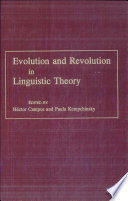 Evolution and Revolution in Linguistic Theory