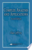 Complex Analysis and Applications  Second Edition