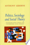 Politics  Sociology and Social Theory