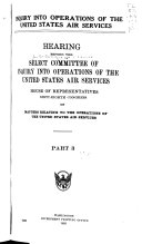 inquiry into operations of the united states air services