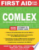 First Aid for the COMLEX  Second Edition