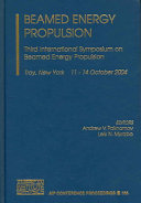 Beamed Energy Propulsion