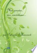 illustration du livre Mes pensées, mes convictions...