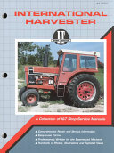 International Harvester Shop Manual Ih 202  I   T Shop Service Manuals