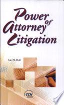 Power of Attorney Litigation