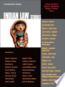 Goldberg  Washburn and Frickey s Indian Law Stories  Stories Series