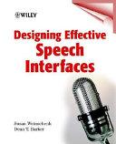 Designing effective speech interfaces