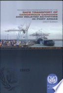 Revised Recommendations on the Safe Transport of Dangerous Cargoes and Related Activities in Port Areas