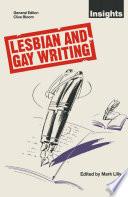 Lesbian and Gay Writing