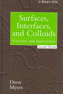 Surfaces  interfaces  and colloids