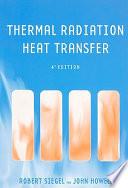 Thermal Radiation Heat Transfer  Fourth Edition