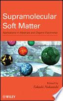 Supramolecular Soft Matter