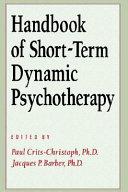 Handbook of Short term Dynamic Psychotherapy