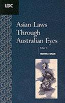 Asian Laws Through Australian Eyes