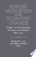 Forced Migration and Scientific Change Forced Exodus Of Jewish Intellectuals From