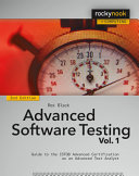 Advanced Software Testing   Vol  1  2nd Edition