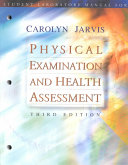 Student Laboratory Manual for Physical Examination and Health Assessment