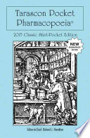 Tarascon Pocket Pharmacopoeia 2015 Classic Shirt Pocket Edition