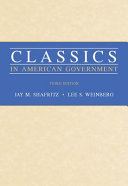 Classics in American Government