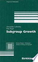 Subgroup Growth