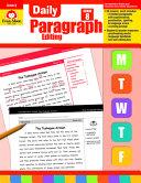 Daily Paragraph Editing  Grade 8