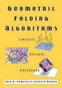 Geometric Folding Algorithms