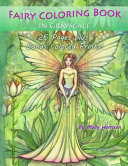 Fairy Coloring Book in Grayscale