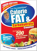 The CalorieKing Calorie  Fat and Carbohydrate Counter 2009