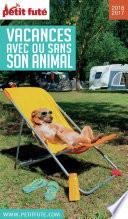 Vacances Avec Ou Sans Son Animal 2016 2017 Petit Fut