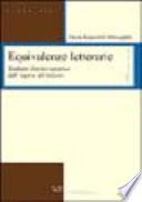 Equivalenze letterarie