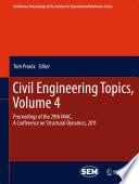 Civil Engineering Topics  Volume 4
