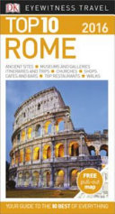 Top 10 Eyewitness Travel Guide   Rome