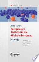 Kurzgefasste Statistik für die klinische Forschung