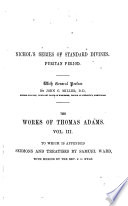 The Works of Thomas Adams