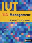 Management   DUT GEA et TC   1re et 2e ann  es