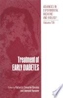 Treatment Of Early Diabetes