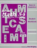 Math 54 Adaptation
