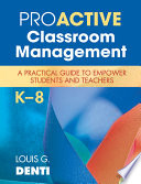 Proactive Classroom Management  K  8