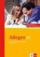 Allegro    Neuausg  gem  CEFR      Allegro   Italienisch  A1   Lehr  und Arbeitsbuch Italienisch