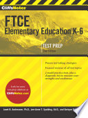 Cliffsnotes FTCE Elementary Education K 6