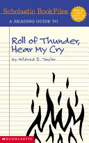 A Reading Guide to Roll of Thunder  Hear My Cry by Mildred D  Taylor