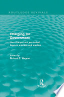 Charging for Government  Routledge Revivals