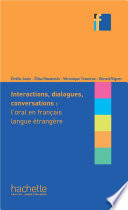 Collection F - intéractions, dialogues, conversation - l'oral en FLE (ebook)