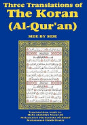 Three Translations of The Koran  Al Qur an  Side by Side