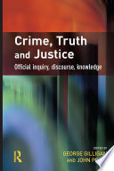 Book Crime  Truth and Justice