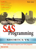 Professional SAS Programming Shortcuts