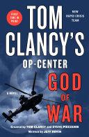 Tom Clancy's Op-Center: God of War Pdf/ePub eBook