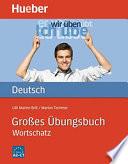 Gro  es   bungsbuch Deutsch Wortschatz