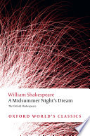 The Oxford Shakespeare A Midsummer Night S Dream